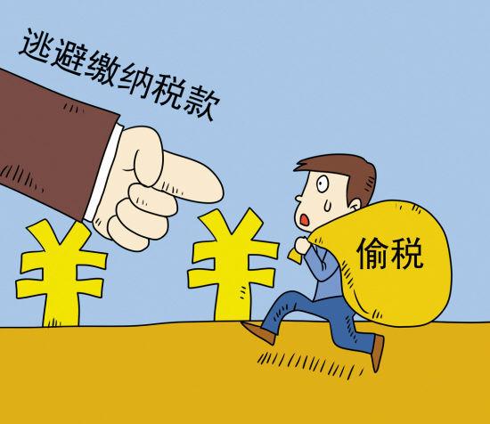 偷税、漏税、欠税、抗税 它们区别以及后果!